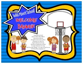 Sports - Basketball Welcome Banner