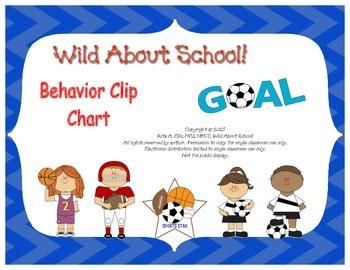 Sports Behavior Clip Charts