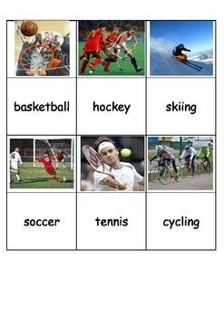 Sports Bingo