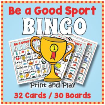 Sports BINGO - Sports Day Printable