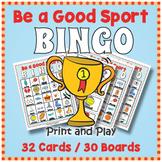 Sports Day BINGO & Memory Matching Card Game Activity