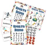 Sports Bingo (Clipart Version) - Fun Classroom Game