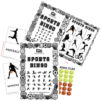 Sports Bingo - Fun Classroom Game