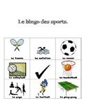 Sports Bingo en Français!