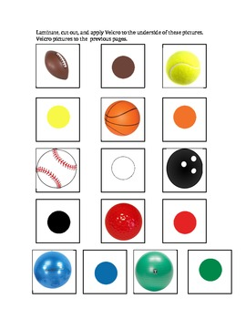Sports Book of Colors