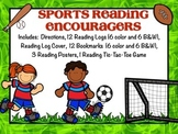 Sports Bookmarks, Reading Logs, Posters. (To Encourage Reading!)