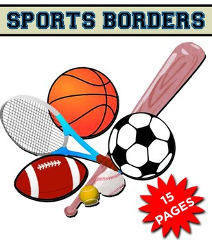 Sports Borders - 15 Pack
