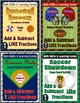 "Sports Bundle (Add & Subtract ""Like"" Fractions)"