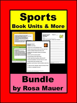 Sports Bundle Book Units & More
