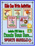 Sports Bundle: Create a Team Project (Google Classroom)