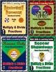 Sports Bundle Math Skills & Learning Center (Multiply & Divide Fractions)