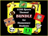 Sports Bundle with CCSS Activities for Elementary Students