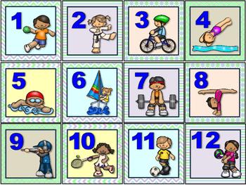 Sports Calendar Set