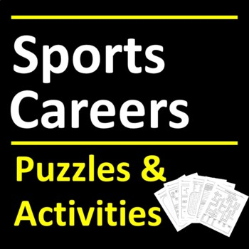 Sports Careers Puzzle Activities