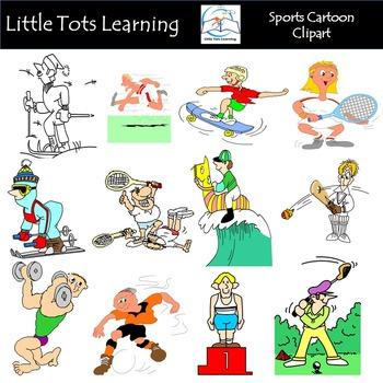 Sports Cartoon Clip Art