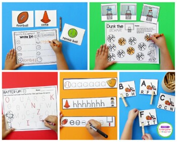 Sports Centers and Activities for Pre-K/Kindergarten