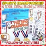 Sports Championship New Zealand School Journals Activity Pack