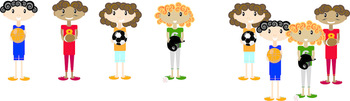 Sports Characters clip art