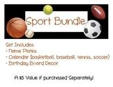 Sports Classroom Decor Bundle