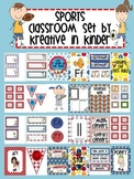 Sports Classroom Theme Decor For Beginning of Year