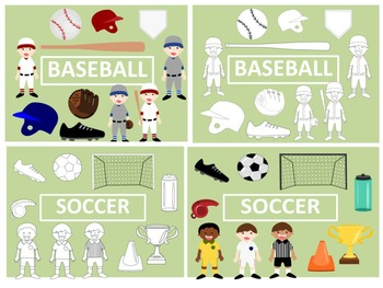 Sports Clip Art Bundle