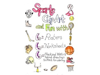 Sports Clip Art and Fun