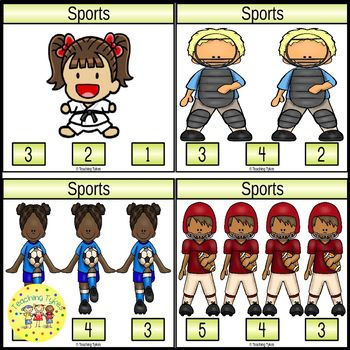 Sports Task Cards
