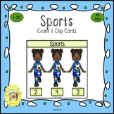 Sports Clip Task Cards