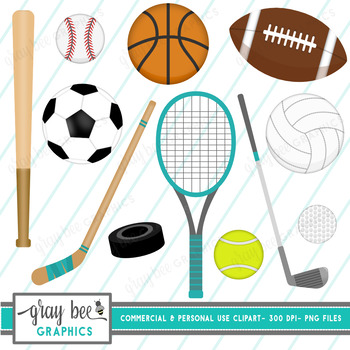 Sports Clipart Pack