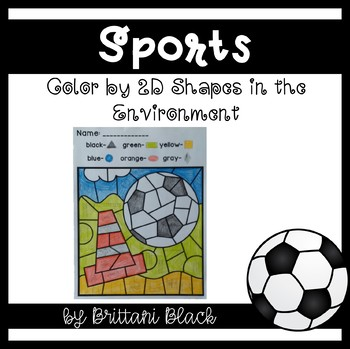 Sports~ Color by Code