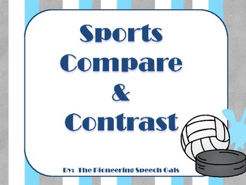 Sports Compare & Contrast Game