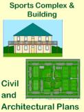 Sports Complex: Architectural & Civil Engineering Bundle:D