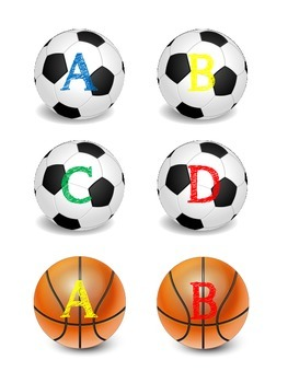 Sports Cooperative Grouping Cards