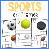 Sports Counting Frames | Math Center Activities