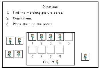 Sports Counting to 10 Centers