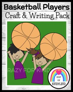 Basketball Craft And Writing (Sports, March Madness)