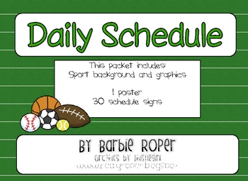 Sports Daily Schedule