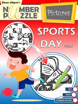Sports Day Number Puzzle Pictures Volume I