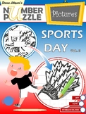 Sports Day Number Puzzle Pictures Volume II