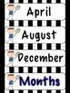 Sports Days & Months Set