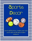 Sports Decor (Word Wall)