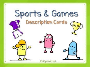 Sports Description Cards