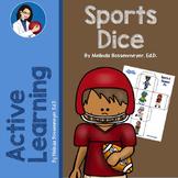 Sports Dice Activity Set