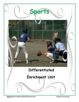 Sports - Differentiated Blooms Enrichment Unit