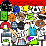 Sports Doodle Icons  {Sport Clipart}