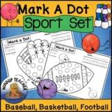 Sports Dot Dauber Set