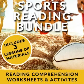 Sports - ESL Readings on Cricket, Rugby & Base Jumping w/ activities and review