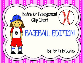 Sports Edition Behavior Management Clip Chart