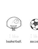 Sports Emergent Reader