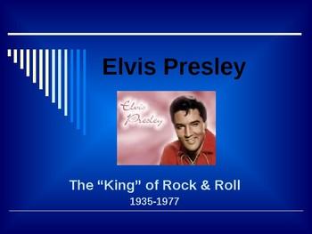 Sports & Entertainment - Elvis Presley